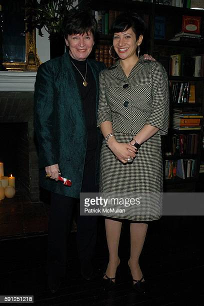 and Iris Brooks attend Preview of EDUN's Premier Autumn/Winter 2005 Collection Hosted by Ali Bono and Rogan at The National Arts Club on February 11...