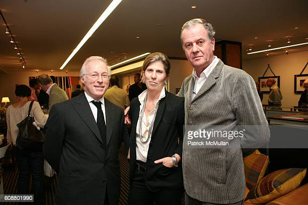 and Jacques Grange attend HIGH TEA FOR THE PREMIERE OF GALERIE MARK HOSTED BY ALEXICO GROUP JACQUES GRANGE PIERRE PASSEBON at Gallerie Mark 992...