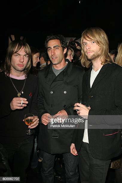 and James Valentine attend A Night of Music Fashion benefiting the Center for Innovative Education hosted by Express at Smashbox Studios on February...