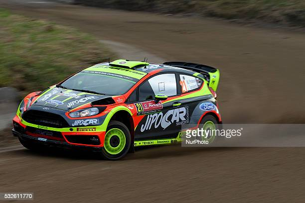 PROKOP and JAN TOMÁNEK in FORD FIESTA RS WRC of team JIPOCAR CZECH NATIONAL TEAM in action during the shakedow of the WRC Vodafone Rally Portugal...