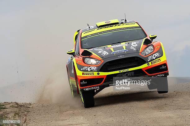PROKOP and JAN TOMÁNEK in FORD FIESTA RS WRC of team JIPOCAR CZECH NATIONAL TEAM in action during the SS13 Baiao of the WRC Vodafone Rally Portugal...