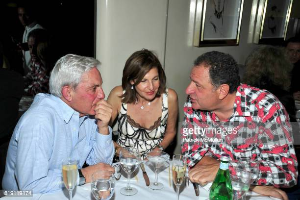 and Jean Pigozzi attend LARRY GAGOSIAN hosts a Private Dinner for the ANDREAS GURSKY Opening Exhibition at GAGOSIAN GALLERY at Mr Chow on March 4...