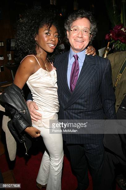 and Jeffrey Deitch attend Kelly Osbourne DJ's at Charm School University at Marquee on April 25 2005 in New York City