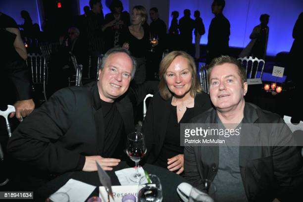 and John Challis attend PATTI SMITH Live in Concert A Benefit for The American Folk Art Museum at Espace on May 15 2010 in New York City