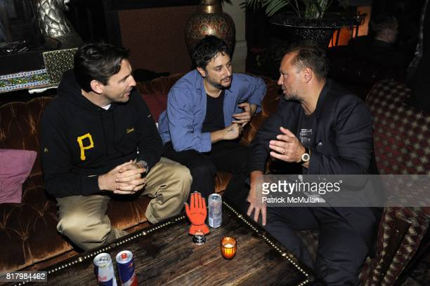 and Juergen Teller attend Release Party For THE JOURNAL 29 at Jane Hotel on September 13 2010 in New York City