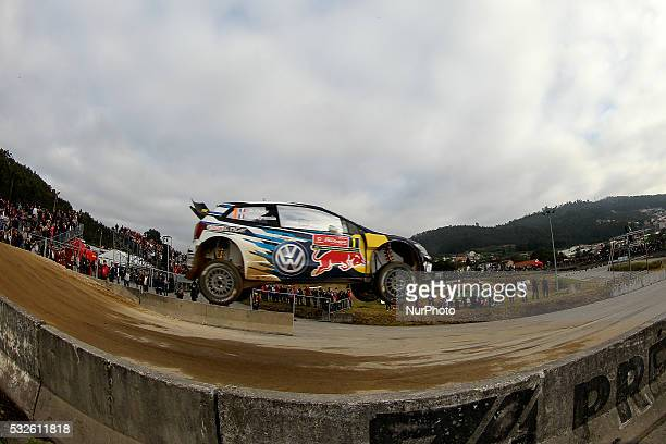 OGIER and JULIEN INGRASSIA in VOLKSWAGEN POLO R WRC of team VOLKSWAGEN MOTORSPORT in action during the shakedow of the WRC Vodafone Rally Portugal...