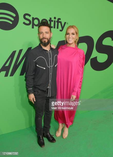 JNS and Kabah attends the 2020 Spotify Awards at the Auditorio Nacional on March 05 2020 in Mexico City Mexico