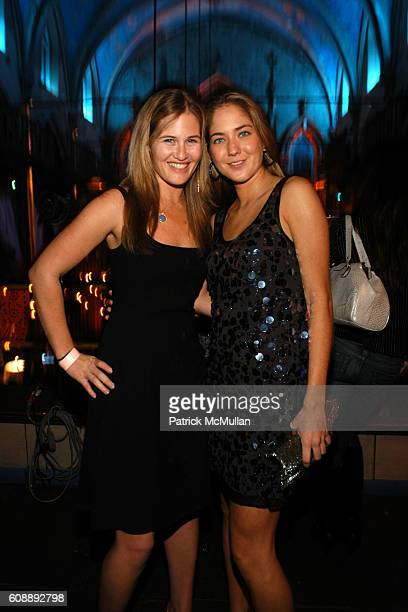 and Karina CorreaMaury attend Young International Circle Benefit and Party for EL MUSEO DEL BARRIO at The Angel Orensanz Foundation on November 2...