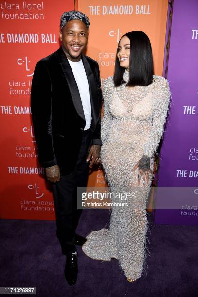 and Kehlani attend Rihanna's 5th Annual Diamond Ball Benefitting The Clara Lionel Foundation at Cipriani Wall Street on September 12 2019 in New York...