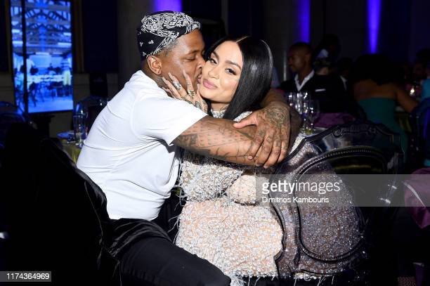 YG and Kehlani attend Rihanna's 5th Annual Diamond Ball Benefitting The Clara Lionel Foundation at Cipriani Wall Street on September 12 2019 in New...