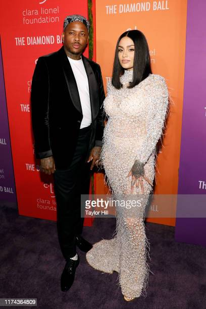 YG and Kehlani attend the 5th Annual Diamond Ball benefiting the Clara Lionel Foundation at Cipriani Wall Street on September 12 2019 in New York City
