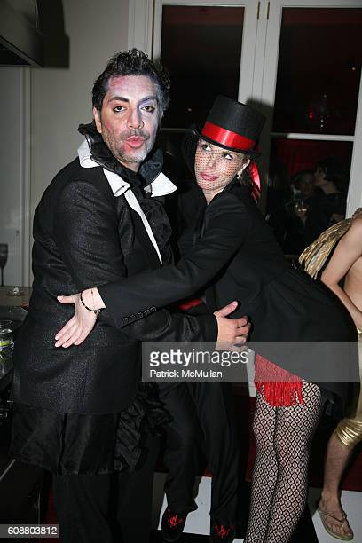 and Lindsey Love attend ALLISON SAROFIM'S 2007 HALLOWEEN PARTY at Private Residence on October 27 2007 in New York City