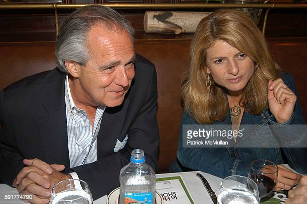 and Lisa Bloom attend A Private Screening of FOX 2000 PICTURES New Release In Her Shoes at La Goulue on October 2 2005 in New York City