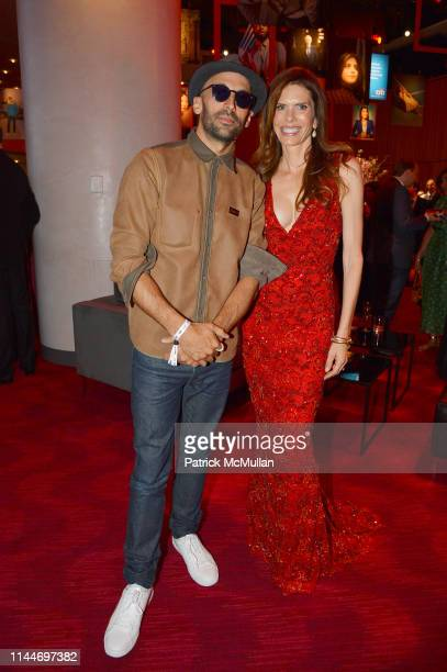 JR and Lynne Benioff attend the Time 100 Gala 2019 at Jazz at Lincoln Center on April 23 2019 in New York City