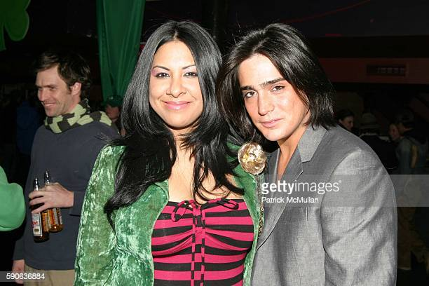 and Manuel Norena attend Patrick McMullan's Annual St Patricks Day Party Hosted by Gotham Magazine Sponsored by Intrigue The Pump and Blue Ox Energy...