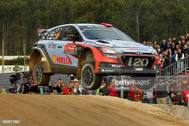 SORDO and MARC MARTI in HYUNDAI NEW GENERATION in action during the shakedow of the WRC Vodafone Rally Portugal 2016 in Matosinhos Portugal on May 19...