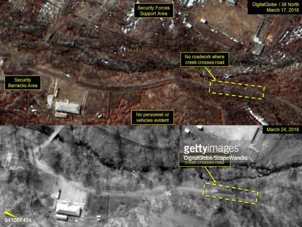 KOREA MARCH 17 and MARCH 24 2018 Figure 3 New roadwork at Security Forces Support Area