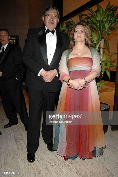 and Marianne Rosenberg attend FRENCHAMERICAN FOUNDATION GALA DINNER at The Four Seasons Restaurant on November 7 2007 in New York City
