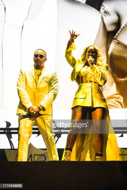 And Mary J. Blige perform at Bankers Life Fieldhouse on September 12, 2019 in Indianapolis, Indiana.