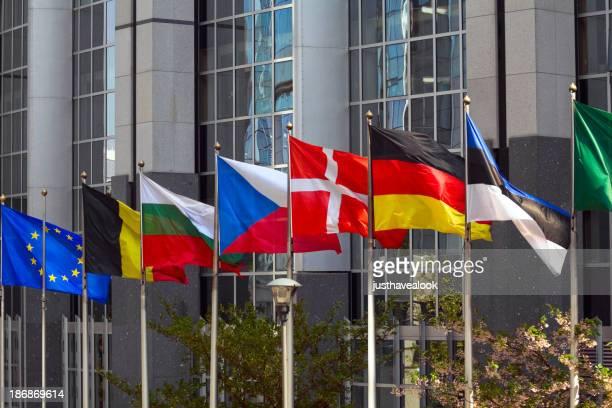 Der EU und ihrer Mitgliedstaaten flags