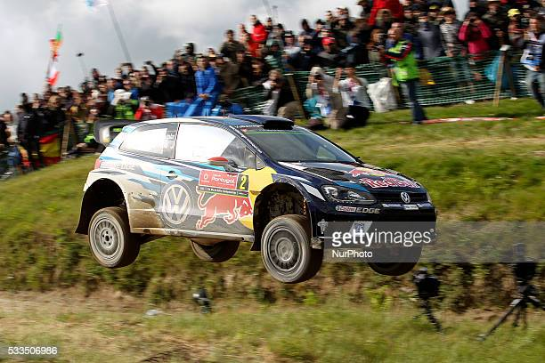 LATVALA and MIIKKA ANTTILA in VOLKSWAGEN POLO R WRC of team VOLKSWAGEN MOTORSPORT in action during the SS17 Fafe of the WRC Vodafone Rally Portugal...