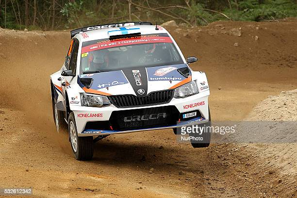 SUNINEN and MIKKO MARKKULA in FORD FIESTA R5 of team TEAM ORECA in action during the shakedow of the WRC Vodafone Rally Portugal 2016 in Matosinhos...