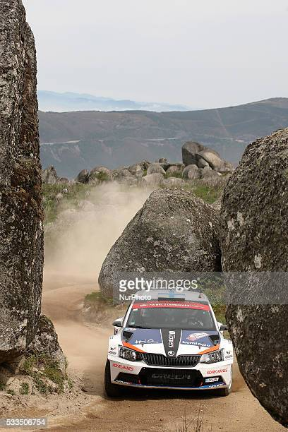 SUNINEN and MIKKO MARKKULA in FORD FIESTA R5 of team TEAM ORECA in action during the SS11 Marao of the WRC Vodafone Rally Portugal 2016 in Matosinhos...