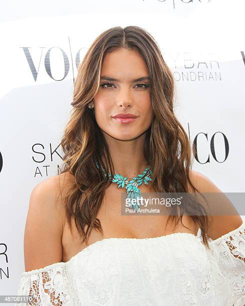 VOCO and model Alessandra Ambrosio host the Labor Day Weekend closing summer party at The Mondrian at SkyBar at the Mondrian Los Angeles on September...
