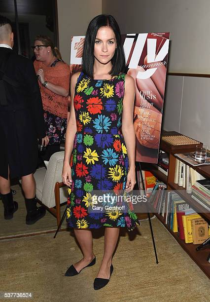 DJ and model Leigh Lezark attends the The Daily's Summer premiere party at the Smyth Hotel on June 2 2016 in New York City