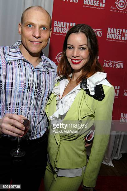 and Monica Moss attend Bailey House Auction at The Puck Building on February 15 2007 in New York City