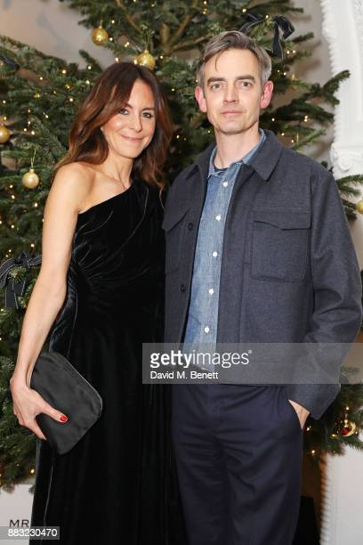 PORTER and MR PORTER President Alison Loehnis and MR PORTER Managing Director Toby Bateman attend a party hosted by NETAPORTER and MR PORTER to...