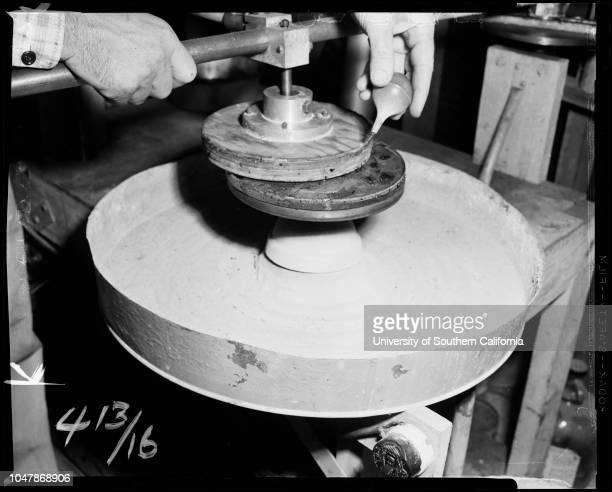 MR and Mrs C Rex BohannonCaption slip reads 'Photographer James Brezina Date Assignment La Crescenta man has miniature observatory C Rex Bohannon...