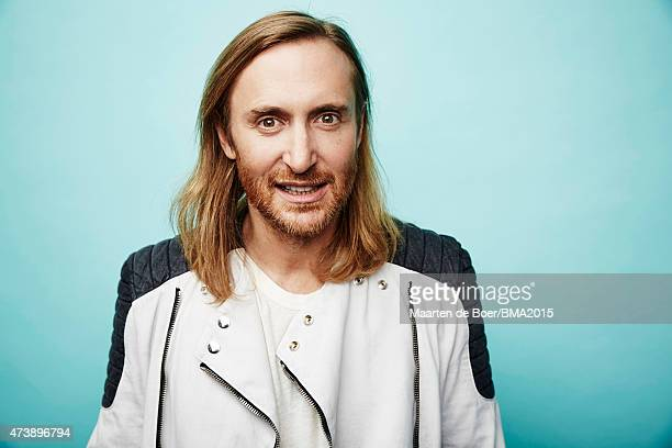 DJ and music producer David Guetta poses for a portrait at the 2015 Billboard Music Awards] on May 17 2015 in Las Vegas Nevada