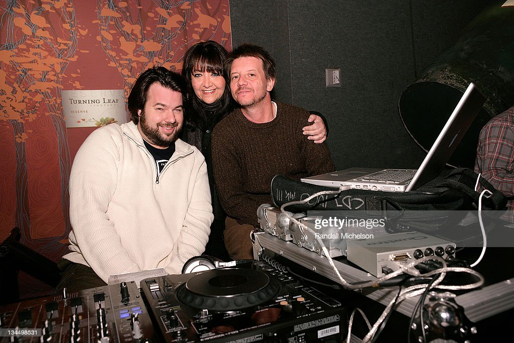 DJ and Music Supervisor Thomas Golubic, Doreen Ringer Ross BMI, and Music Executive John McHugh attends the BMI Big Crowded Room Party at the Leaf Lounge during the 2008 Sundance Film Festival on January 21, 2008 in Park City, Utah.