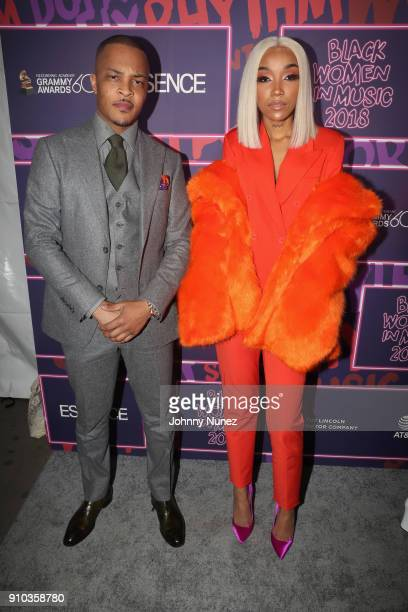 I and musician Tokyo Jetz attend the Essence 9th annual Black Women in Music at Highline Ballroom on January 25 2018 in New York City