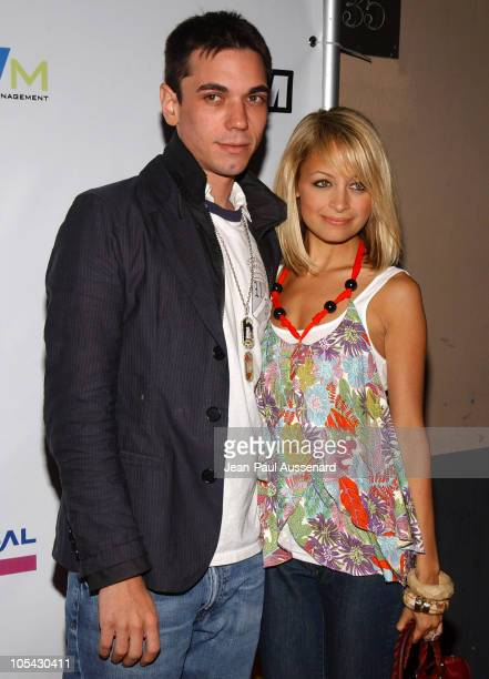 And Nicole Richie during Inside: E3 2005 Party at Avalon Hollywood in Hollywood, California, United States.