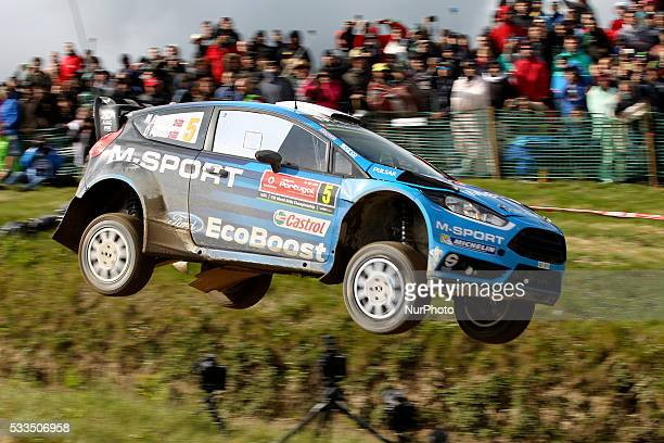 OSTBERG and OLA FLOENE in FORD FIESTA RS WRC of team MSPORT WORLD RALLY TEAM in action during the SS17 Fafe of the WRC Vodafone Rally Portugal 2016...