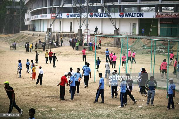 And on every Fridays they gather there outside the main stadium....Cricket is the most popular sport in the country these days, these guys are...