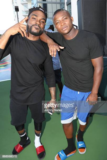 and OT Genasis attend The House Of Remy Martin Presents The MVP Experience In Miami at W South Beach on December 8 2017 in Miami Beach Florida