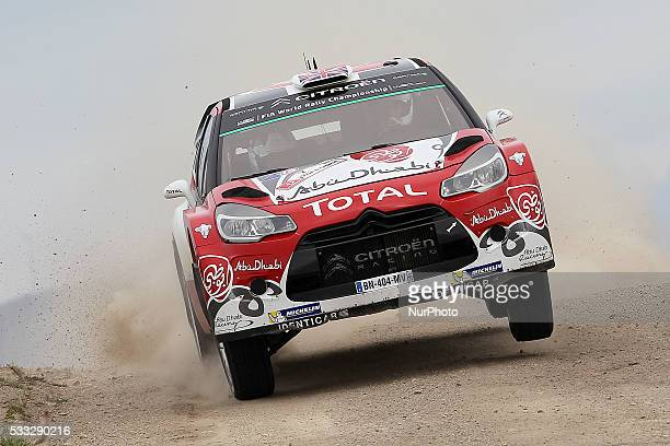 MEEKE and PAUL NAGLE in CITROEN DS3 WRC of team ABU DHABI TOTAL WORLD RALLY TEAM in action during the SS13 Baiao of the WRC Vodafone Rally Portugal...