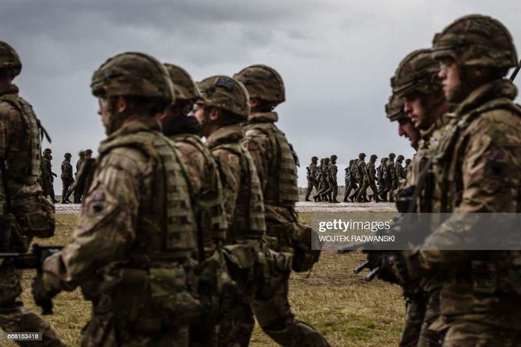 POLAND-NATO-DEFENCE-SECURITY : News Photo