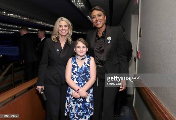 CEO and President Sarah Kate Ellis and Robin Roberts attend the 29th Annual GLAAD Media Awards at The Hilton Midtown on May 5 2018 in New York City