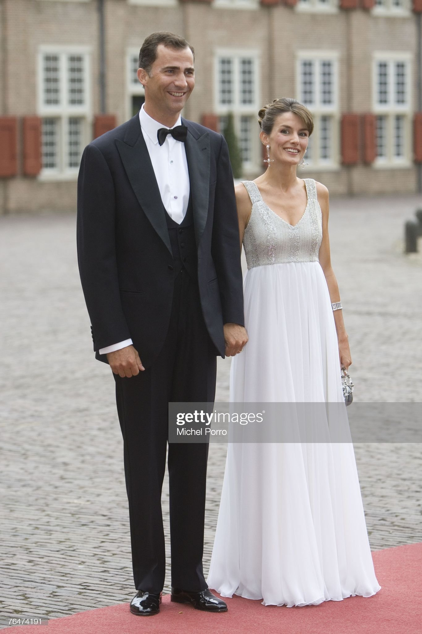 Вечерние наряды Королевы Летиции Prince Willem Alexander Of The Netherlands- 40th Birthday Party : News Photo