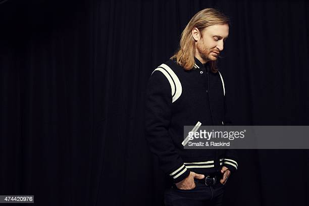 DJ and Producer David Guetta poses for a portrait at the 1027 KIIS FM's Wango Tango portrait studio for People Magazine on May 9 2015 in Carson...