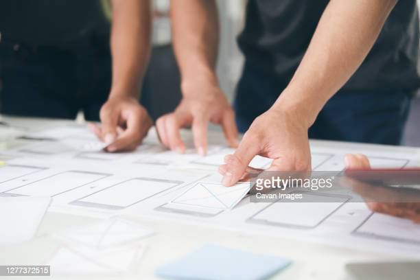 ux ui and programming development technology. - graphical user interface stock pictures, royalty-free photos & images