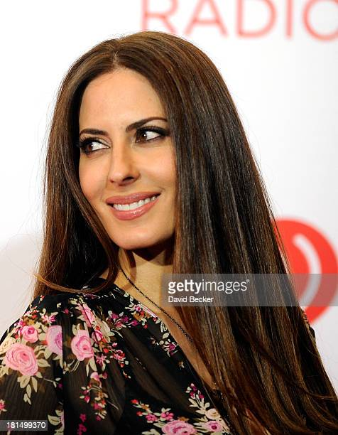 TV and radio host Kerri Kasem attends the iHeartRadio Music Festival at the MGM Grand Garden Arena on September 21 2013 in Las Vegas Nevada