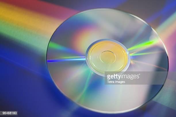CD and rainbow