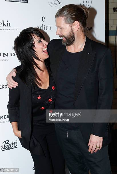 NENA and Rea Garvey attend the 'Das gruene Kaufhaus' Launch Event on September 22 2016 in Berlin Germany