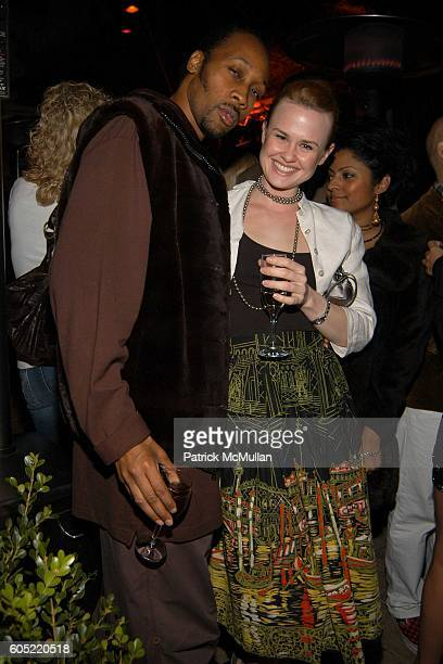 RZA and Rebecca Johnson attend HBO's Annual PreGolden Globes Party hosted by Colin Callender Chris Albrecht and Carolyn Strauss at Chateau Marmont on...