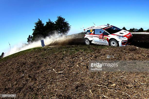 GILBERT and RENAUD JAMOUL in CITROEN DS3 R5 of team GILBERT QUENTIN in action during the SS4 Viana do Castelo of the WRC Vodafone Rally Portugal 2016...